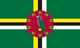 product image for Valley Forge Flag 3-Foot by 5-Foot Nylon Dominica Flag