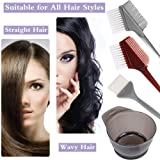 4 PCS Professional Salon Hair Coloring Dyeing Kit
