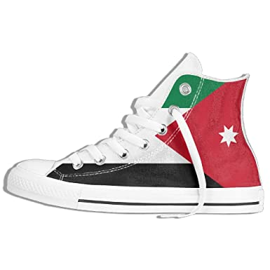 new product 163db 0d092 Amazon.com: Flag Of Jordan Unisex High Top Classic Casual ...