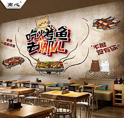 Poowef 3D Wallpaper Papel Tapiz Personalizado Creativa ...