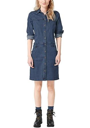 s.Oliver RED LABEL – Jeanskleid mit Knopfleiste – Jeans
