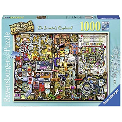 Ravensburger The Inventor's Cupboard 1000pc Puzzle: Toys & Games