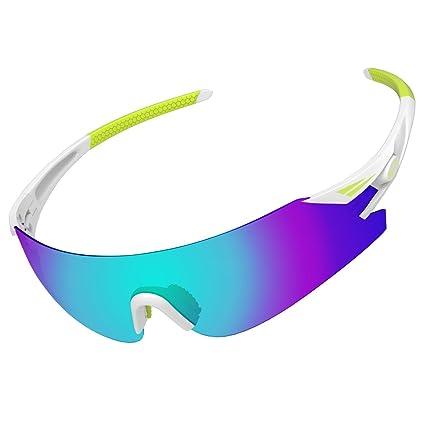 alkai wildkiz de hombres ciclismo o correr gafas de sol ...