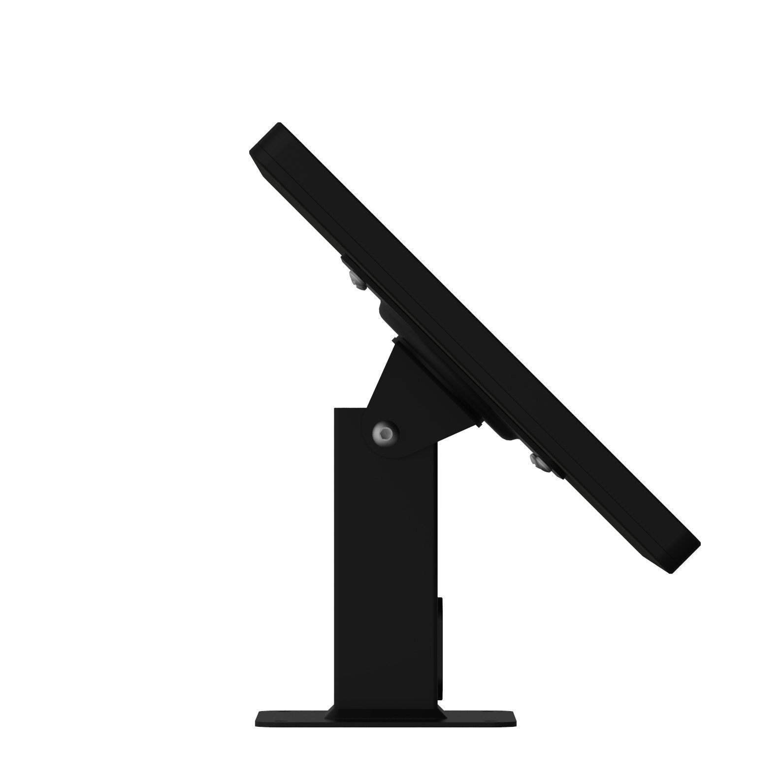 iPad (5th Gen) 9.7/Pro, Air 1/2 Black Covered Home Button Rotating & Tilting Desk/Table Mount [Bundle] by VidaMount (Image #3)