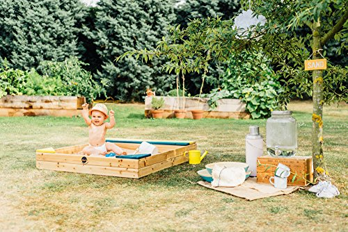 Plum Store-it Wooden Sand Box with Storage Bench and Seating by Plum (Image #6)
