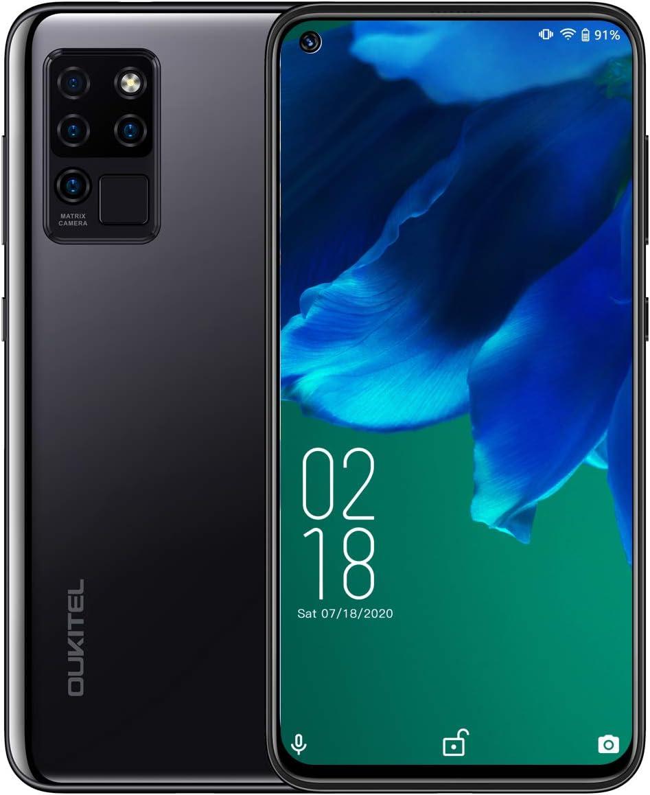 Móviles y Smartphones Libres,OUKITEL C21 Android 10 4G Telefonos Moviles Dual SIM,Pantalla FHD+ de 6.4