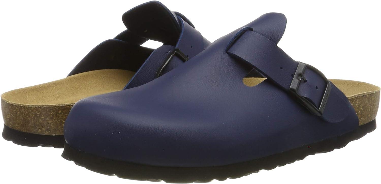 Rohde Alba Damen Pantoffeln Pantolette Cloqs Hausschuhe 6077 Schwarz