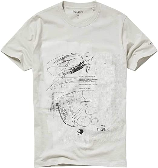 Pepe Jeans Camiseta Gent Beige Hombre XXL Beige: Amazon.es: Ropa y accesorios