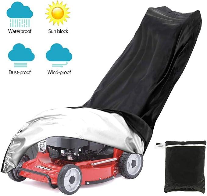 Massage-AED Cubierta para Cortacésped Impermeable Premium Heavy Duty Fabricante Garantizado para El Clima Y Cubierta con Protección UV para Cortacéspedes De Empuje