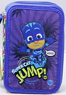 pjmasks Astuccio 3 Zip Interno Giotto