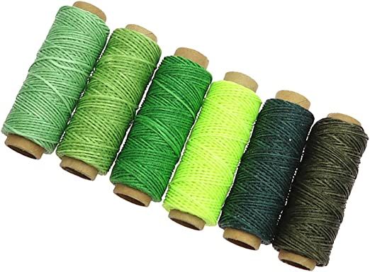 Machine Beand New Quality 2 X Bright Yellow 50m Sewing Cotton Thread For Hand