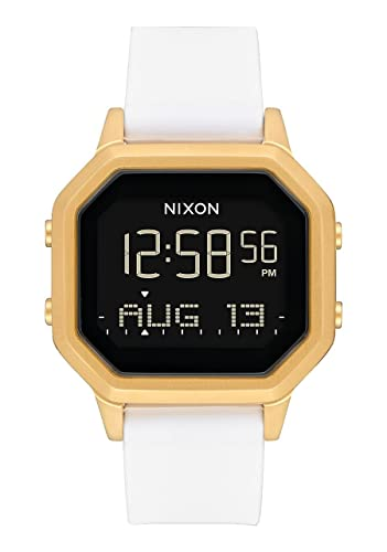 Nixon Reloj Mujer de Digital con Correa en Silicona A1211 508-00: Amazon.es: Relojes