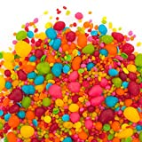 Save 20% at Checkout! | Candy Sprinkles | Fiesta Candyfetti | 8oz Jar | Red Orange Blue Yellow & Green