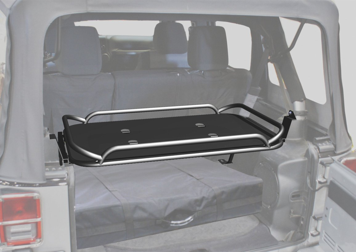 Amazon.com R&age Jeep Products 86623 Black Powder Coat Finish Rear Fold-Up Sport Rack for Jeep Wrangler JK 4-Door Automotive & Amazon.com: Rampage Jeep Products 86623 Black Powder Coat Finish ... pezcame.com