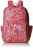 Vera Bradley Women's Lighten up Grand Backpack, Coral Meadow