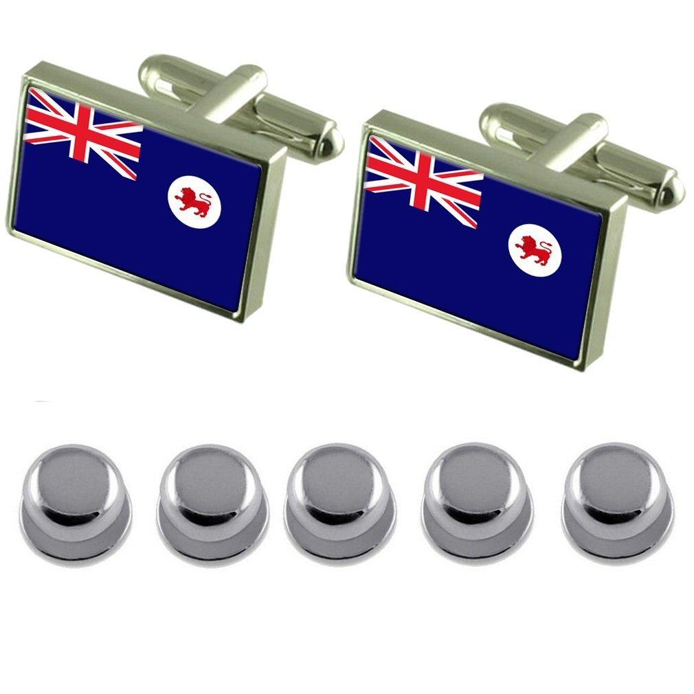 Shirt Dress Studs Tasmania Flag Cufflinks by Select Gifts (Image #1)