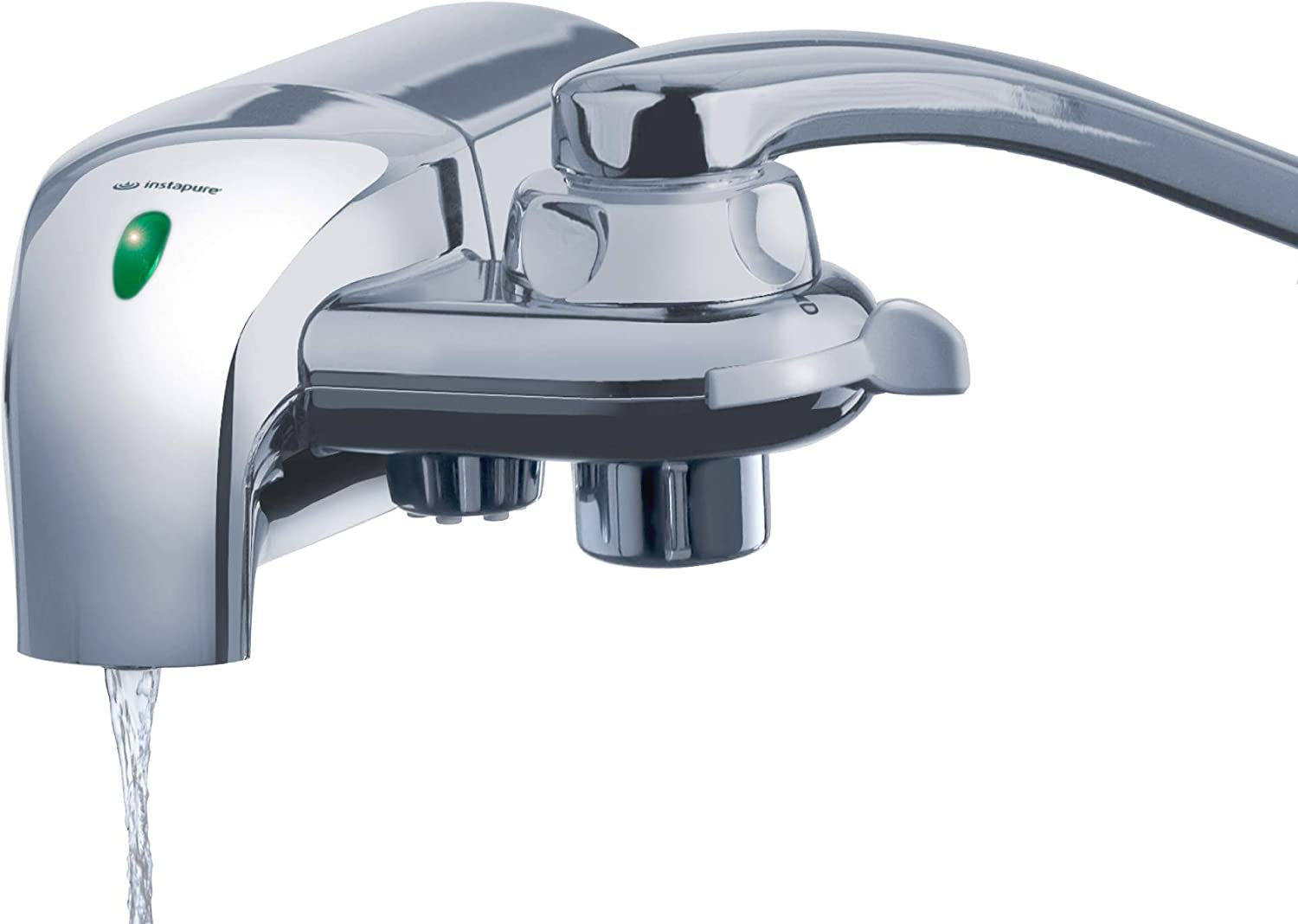 Instapure F8 Ultra Tap Water Filtration System (Chrome), Tested and Certified to NSF/ANSI 42 and 53 For Maximum Reductions