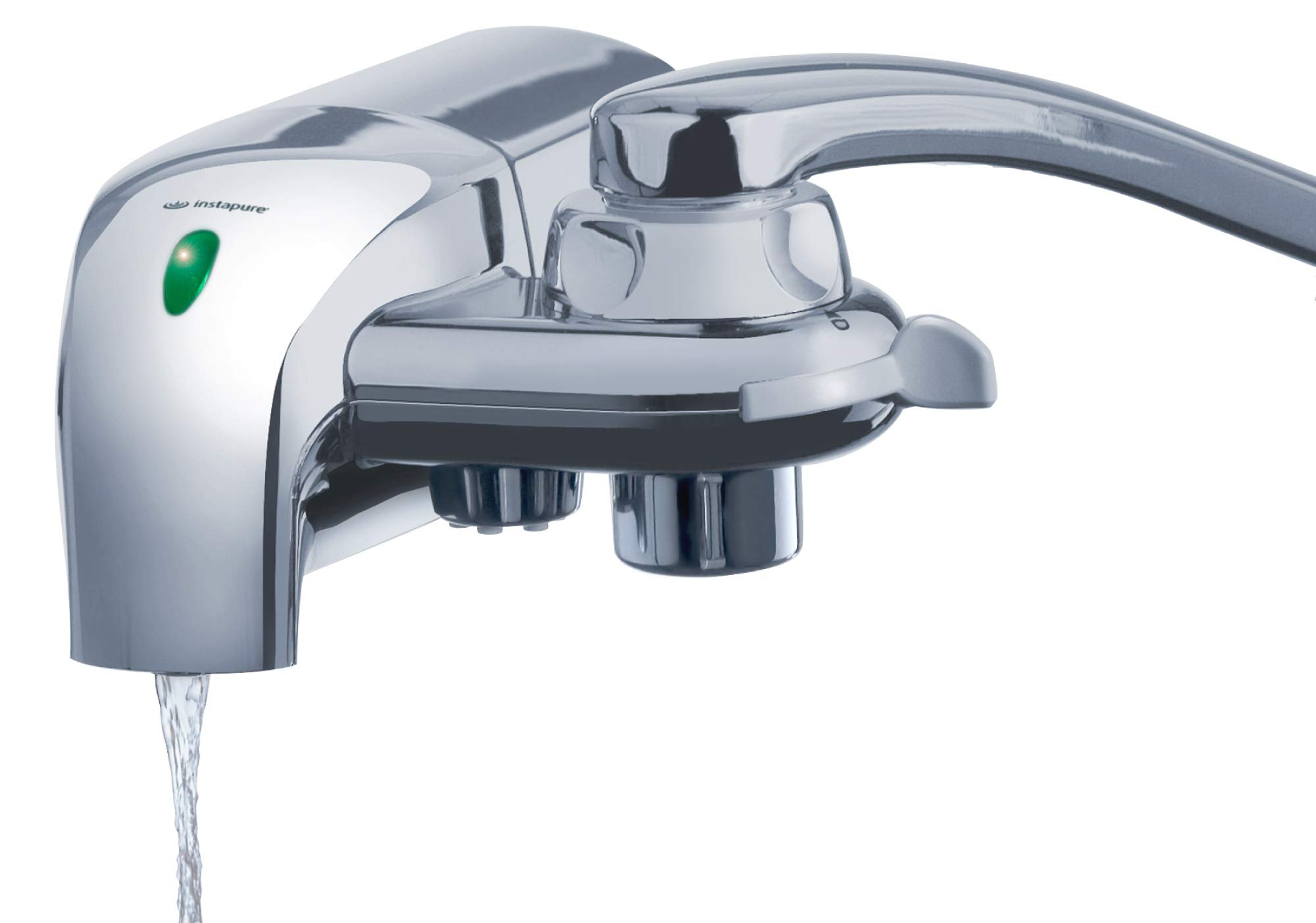 InstaPure F8CU-1ES Faucet Mount Water Filter System, Chrome