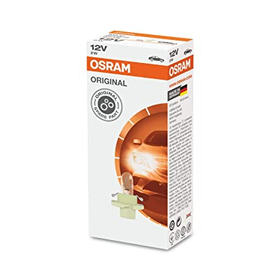 Osram 2452MFX6 Original Lamps for Printed Board Circuits, 12 V, 1.5 W (10 Pack): Automotive