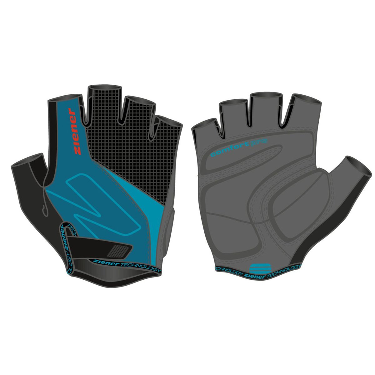 Motorcycle gloves to prevent numbness - Ziener Crave Steel Blue New 2017 Gloves Motorcycle Gloves Cycling Gloves Amazon Co Uk Sports Outdoors