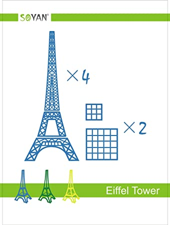 photograph regarding 3doodler Stencils Printable identify Soyan 2018 Fresh new Style and design 3D Pen Templates, Over-all 22 Elements 3D Drawing Stencils Contains Eiffel Tower, Bicycle, Pea, Home, Helicopter etcetera. (EP1)