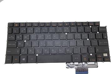 Teclado para portátil LG 13Z940 14Z950 14Z960 LG13Z93 LG14Z95 ...