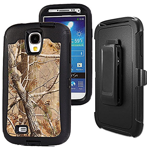 Shockproof Hybrid TPU Case for Samsung Galaxy S4 (Black) - 7