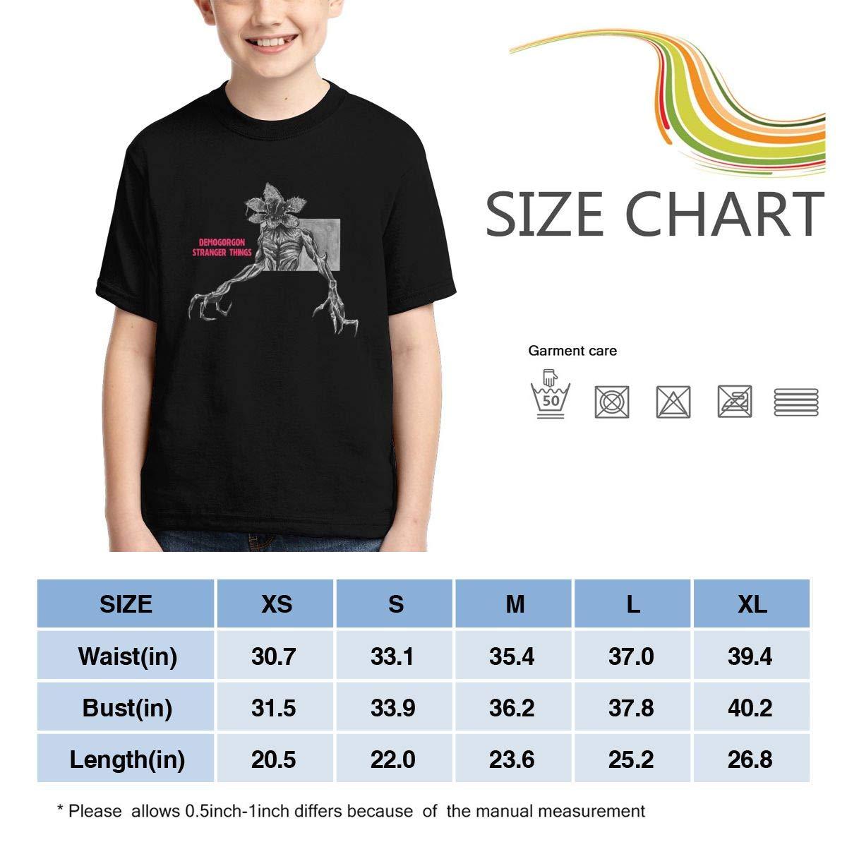 Demogorgon Stranger Kids Things Fan Tee for Boy Girl Black Magicuas Kid T Shirt