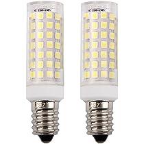 E14 bombilla LED 9W, ZSZT rosca Edison pequeña (SES), equivalente ...