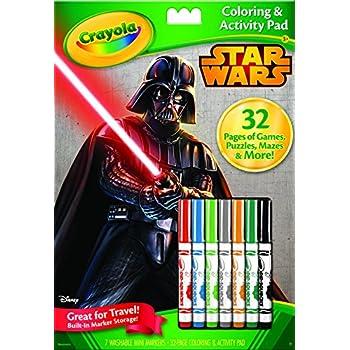 Crayola Star Wars Coloring & Activity Pad