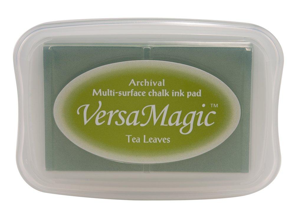 Tsukineko Full-Size VersaMagic Chalk-Finish, Tea Leaves VG000060