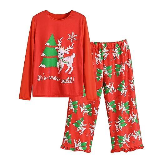 c59211e1f Amazon.com  Parent Child Family Matching Christmas Pyjamas Dad Mom ...
