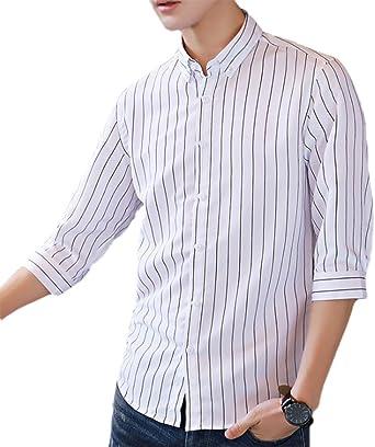 Camisas de Verano para Hombres, Camisa de Manga Media Camisa ...