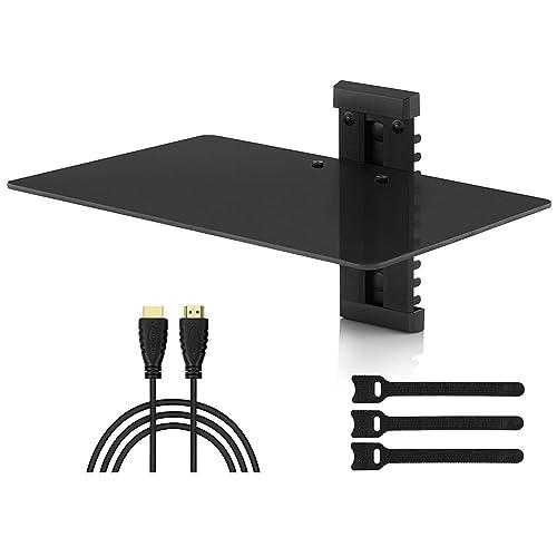 Cable Box Shelf Under Tv Stand Amazon Com