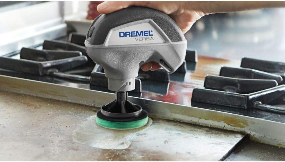 Dremel Pc367 Versa Küchenreinigungs Pad Multipack Für Schnelleres Leichteres Schrubben Mit Dem Hochgeschwindigkeits Reinigungswerkzeug Dremel Versa 3 Pads Baumarkt
