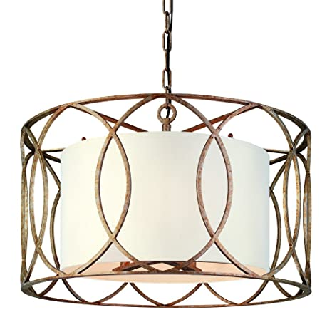 troy lighting sausalito 5 light chandelier silver gold finish with