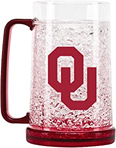 NCAA Oklahoma Sooners 16oz Crystal Freezer Mug