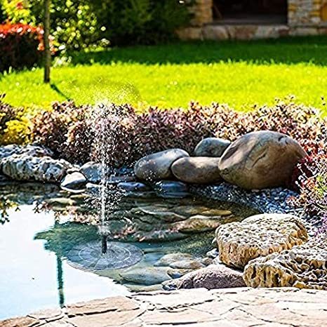 HZWLF Estanque Jardín Fuente Solar Bomba Rcool Al Aire Libre Powered Bird Bath Water Sprinkler para Piscina Acuario: Amazon.es: Deportes y aire libre
