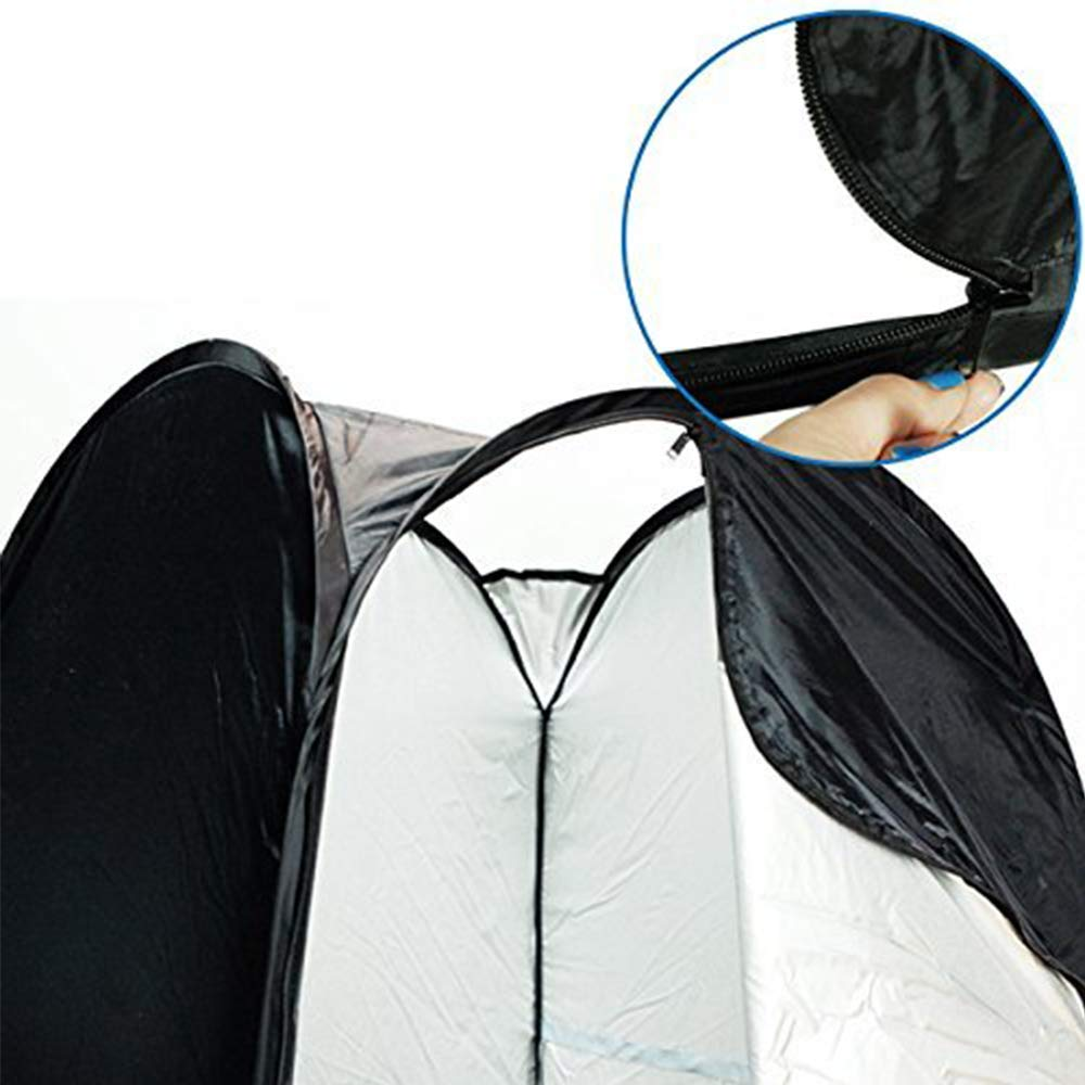 LimoStudio 6 ft. Portable Indoor Outdoor Camping Photo Studio Pop up Changing Tent Fitting Rom with Carrying Case, Foldable into Carry Bag, AGG348 by LimoStudio (Image #5)