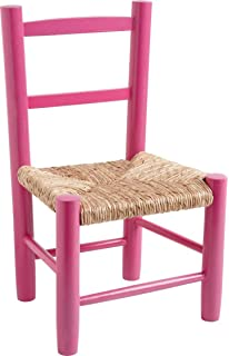 Small Wooden Chair For Children, Wood, Rose, V015007 : Enfant