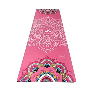 Amazon.com: YOBOOW Yoga Exercise Mat Natural Rubber ...