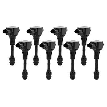 uxcell Set of 8 Ignition Coil for Nissan Titan Pathfinder Infiniti QX56  UF510 5C1482 E1010