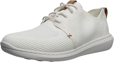 clarks white shoes