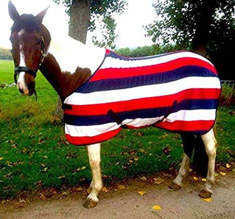 CWELL Equine TRAVEL FLEECE RUG//Cooler Standard Neck PURPLE//LILAC Choice of Sizes