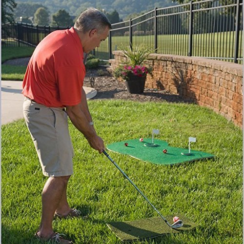 Putt-A-Bout Aqua Golf Floating Putting Mat Green by Putt-A-Bout (Image #2)