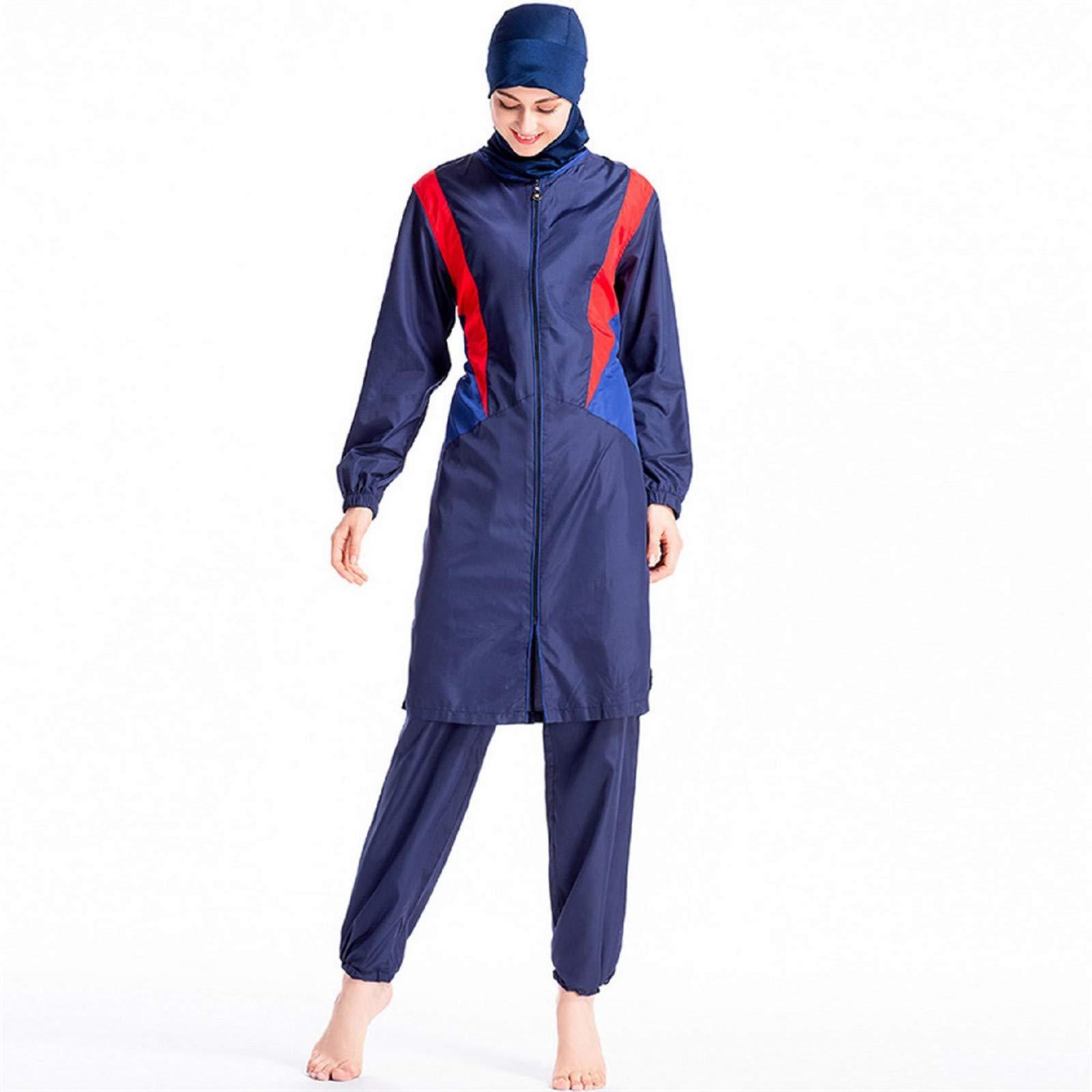 Muslim Swimwear Clothes Women,Women Muslim Bathing Suit + Cap + Pants