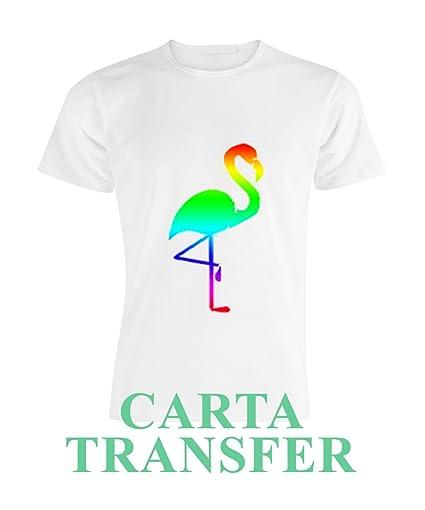 10 hojas A4 de papel transfer para impresión láser digital ...