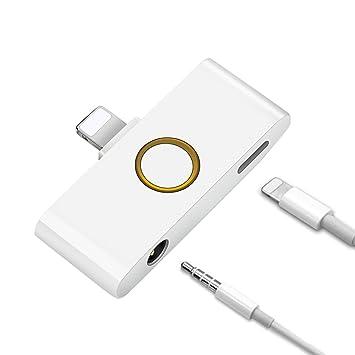 Cierv iPhone X イヤホン変換 ケーブル イヤホン 3.5mm イヤホン ジャック変換 アダプター ライトニング コネクタ変換