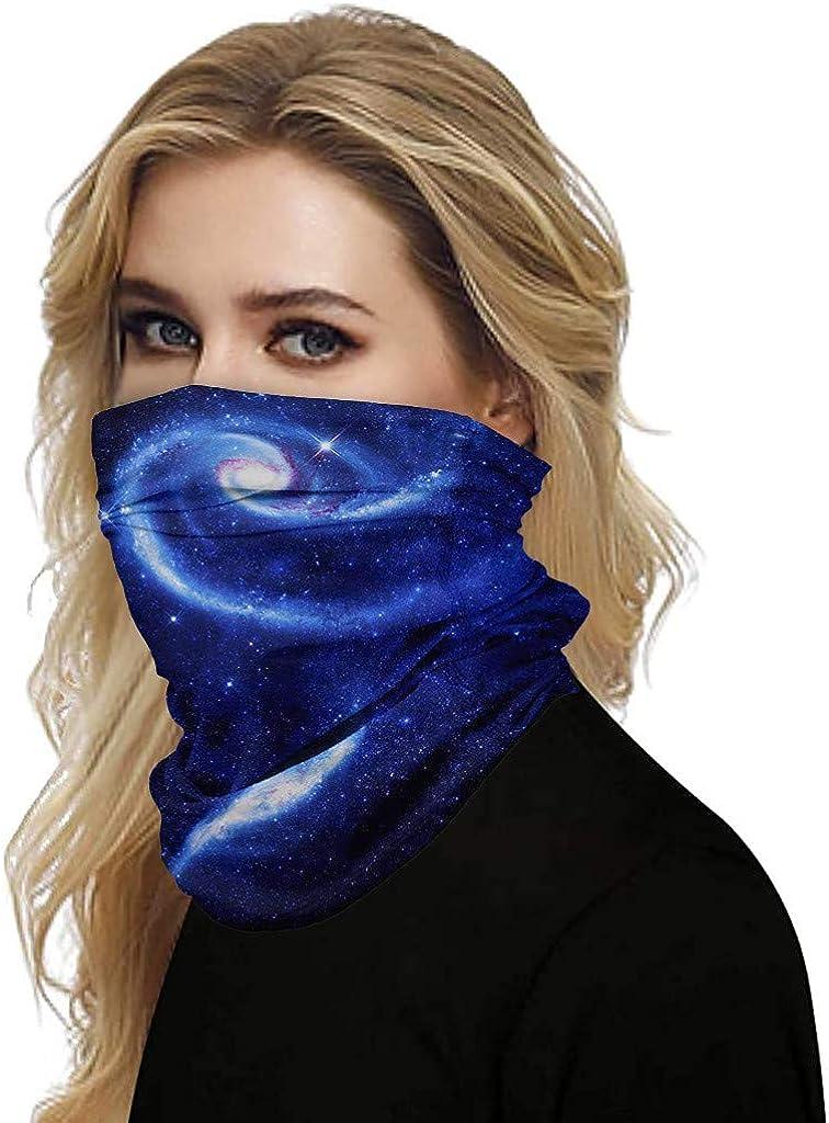 Floral Print Headband Bandana,Multifunctional Headwear,Seamless Neck Gaiter Face Cover Scarf for Men Women