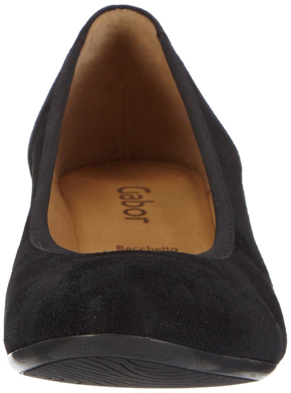 Gabor Schuhes 35.36 Schwarz Damen Geschlossen Pumps Schwarz 35.36 (Schwarz 17) 607d8f